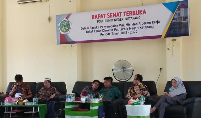 Rapat Terbuka Senat Pemilihan Direktur Politap