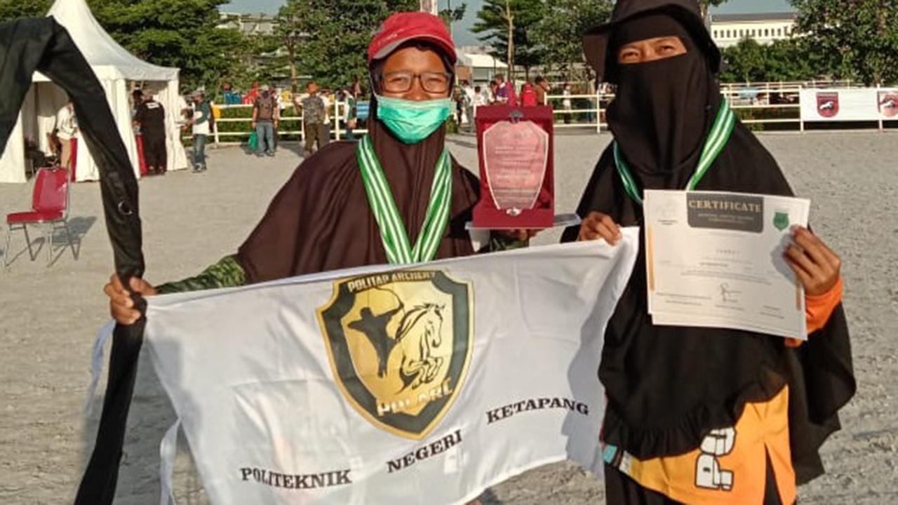 Politap Berjaya Pada Ajang Nasional Horse Back Archery Competition Tingkat Nasional