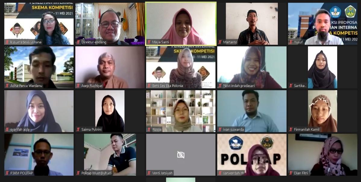 Politap Kembangkan Road Map Penelitian Institusi dan Individu
