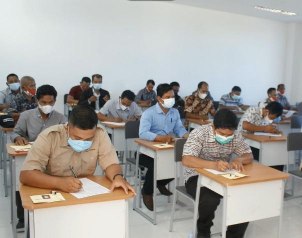 Politap Penyelenggara Ujian Tulis Calon Kepala Desa Pilkades Serentak 2021